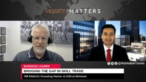 Tim Raglin On Bridging the Gap in Skill Trade