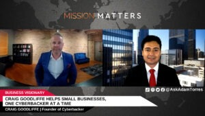 Craig Goodliffe Helps Small Businesses, One Cyberbacker at a Time