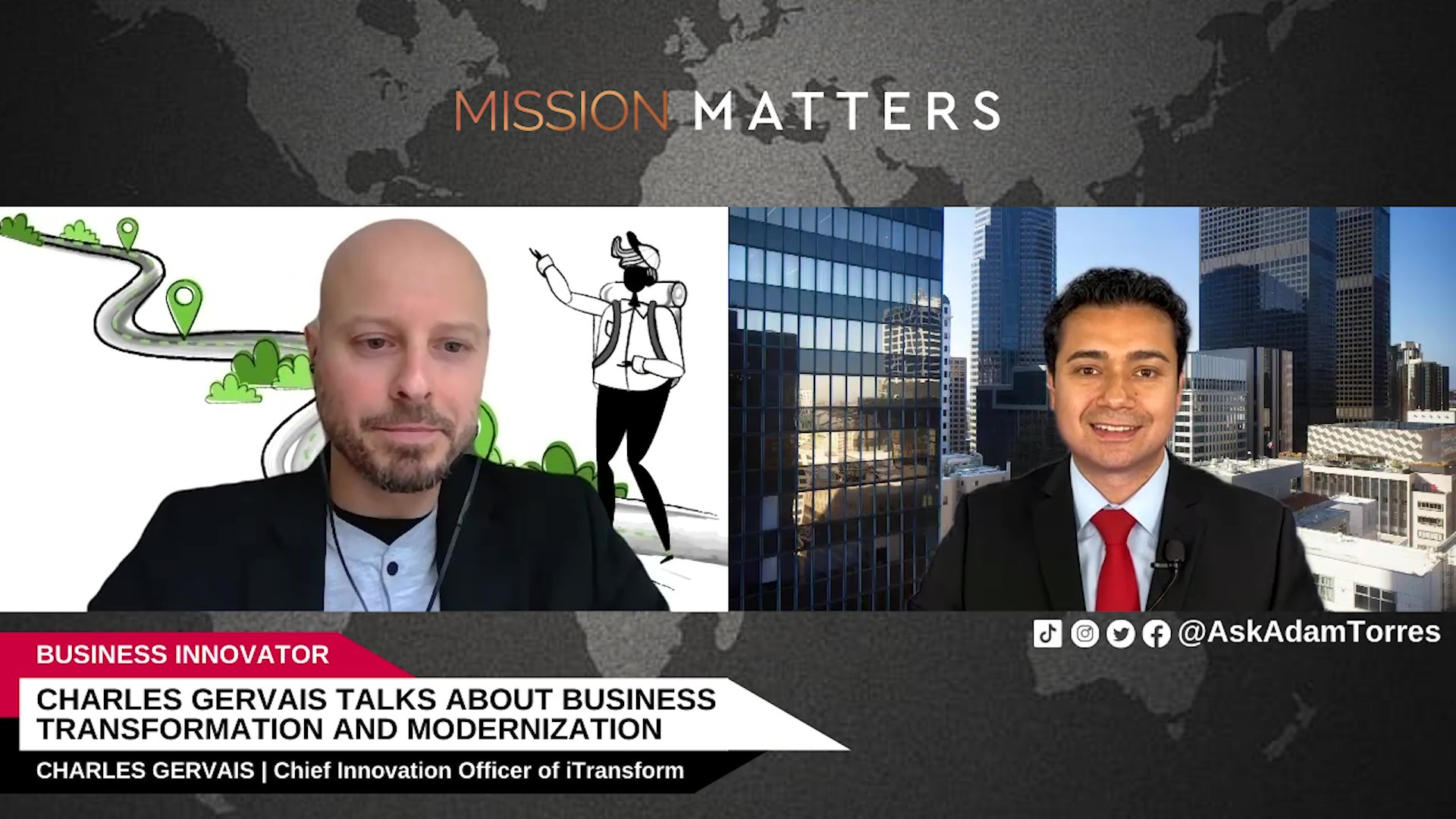 Charles Gervais Talks About Business Transformation And Modernization