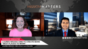 """Lauren Winans Aims to Create More """"Best Places to Work"""""""