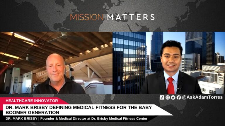 Dr. Mark Brisby Defining Medical Fitness for the Baby Boomer Generation