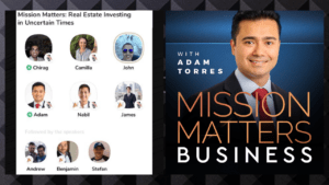 Mission Matters Real Estate Investing In Uncertain Times