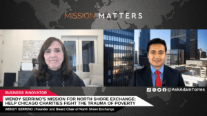 Wendy Serrino's Mission for North Shore Exchange: Help Chicago Charities Fight the Trauma of Poverty