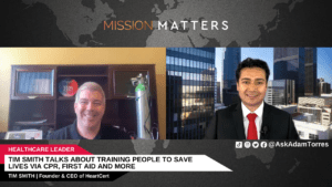 Tim Smith Talks About Training People to Save Lives via CPR, First Aid and More