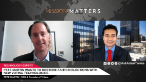 Pete Martin Wants to Restore Faith in Elections with New Voting Technologies